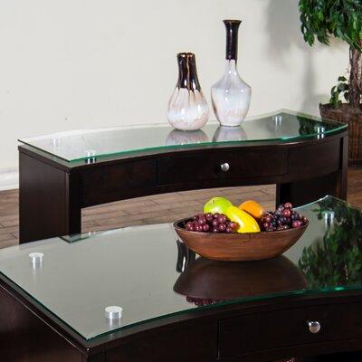 Espresso Console Table by Sunny Designs