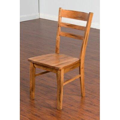 Sedona Side Chair in Rustic Oak by Sunny Designs
