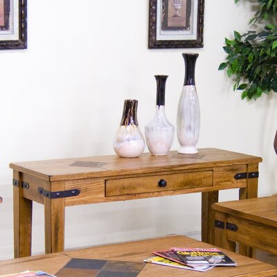 Sedona 1 Drawer Console Table by Sunny Designs