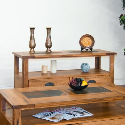 Sedona Console Table with Lower Drawers by Sunny Designs