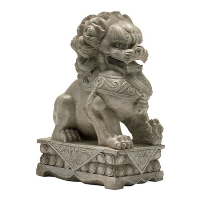 Foo Dog Statue in White by Cyan Design