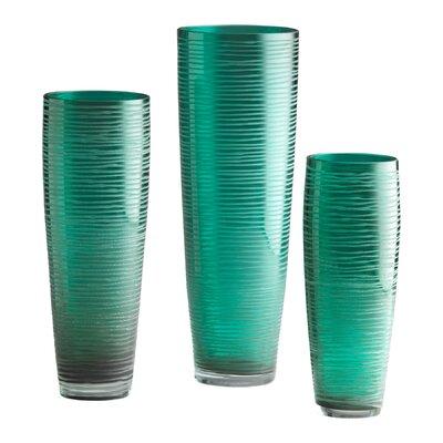 Large Turkish Vase in Aqua by Cyan Design