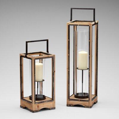 Cyan Design Iron and Wood Ranger Lantern