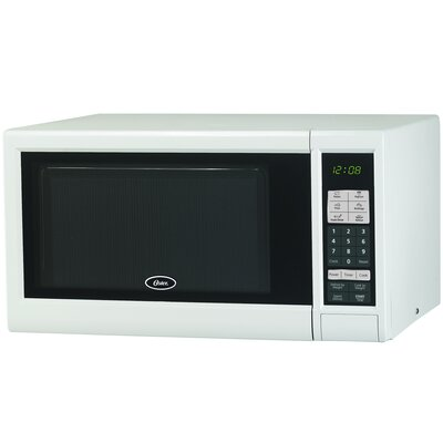 0.9 Cu. Ft. 900W Countertop in White Product Photo