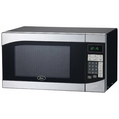 0.9 Cu. Ft. Countertop Microwave in Stainless Steel Product Photo