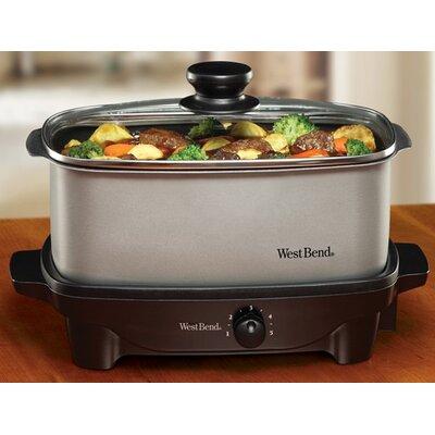 West Bend 5-Quart Oblong Slow Cooker