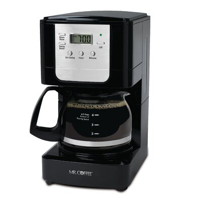5-Cup Programmable Coffee Maker by Mr. Coffee