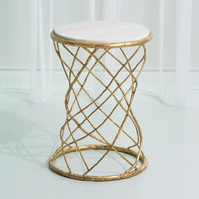 Tango Leaf Side Table by Studio A