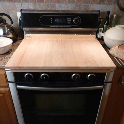 Tableboards Maple Hardwood Reversible Cutting and Bread Board