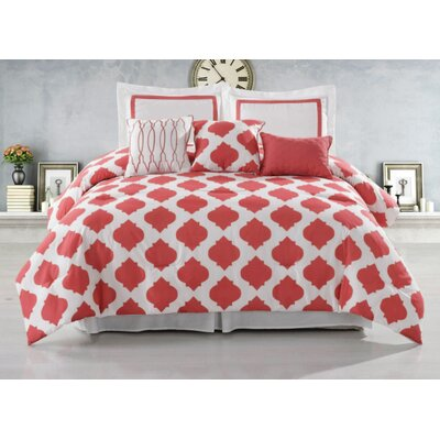 Hilton 6 Piece Hotel Comforter Set by Luxury Home