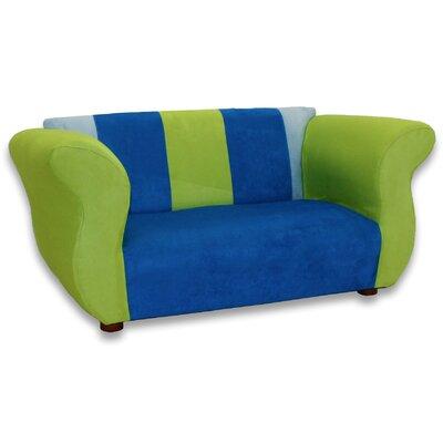 Kid's Fancy Microsuede Sofa by Keet