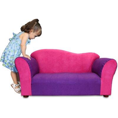 Kid's Wave Microsuede Sofa by Keet