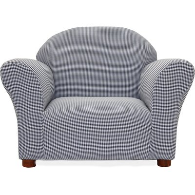 Fantasy Furniture Roundy Ghingham Kids' Club Chair CR1