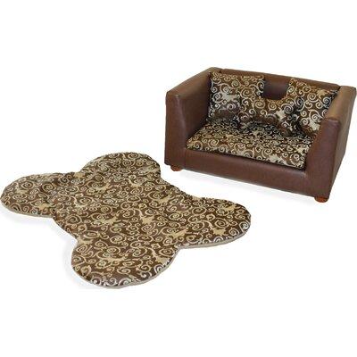 Deluxe Orthopedic Elegant Memory Foam Dog Chair Set by Keet