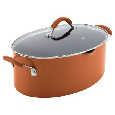 Cucina 8 Qt. Stock Pot with Lid by Rachael Ray
