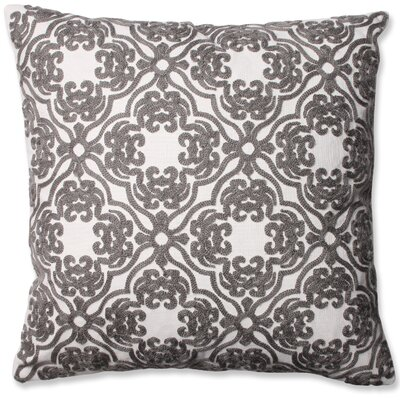 Damask Cotton Throw Pillow by Pillow Perfect