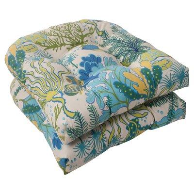 Pillow Perfect Splish Splash Outdoor Seat Cushion