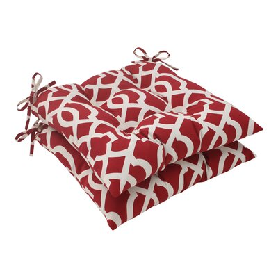 Pillow Perfect New Geo Outdoor Seat Cushion