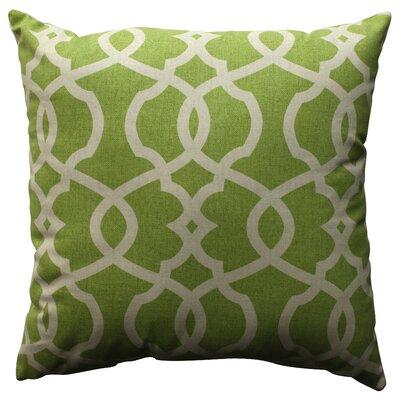 Wayfair Green Throw Pillows : Pillow Perfect Lattice Damask Cotton Throw Pillow & Reviews Wayfair