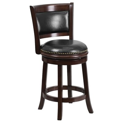 Flash Furniture 24 Swivel Counter Height Stool With