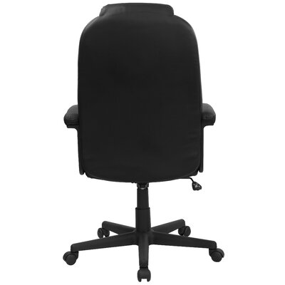 Flash Furniture High-Back Leather Swivel Executive Chair