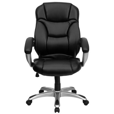 Flash Furniture High-Back Leather Executive Chair