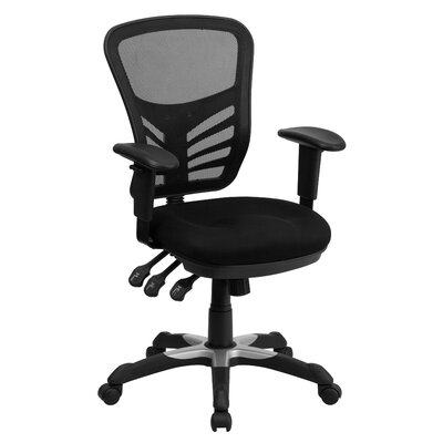 Flash Furniture Mid Back Mesh Office Chair with Triple Paddle Control