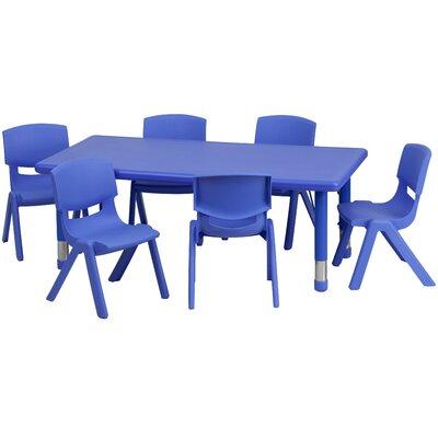 "Flash Furniture 48"" x 24"" Rectangular Classroom Table"