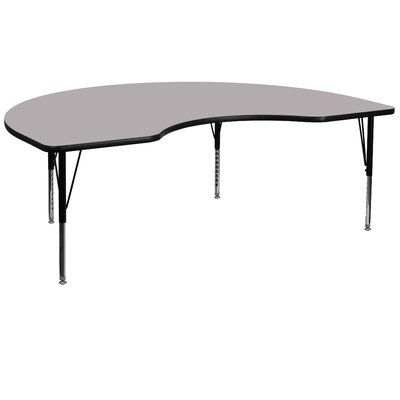 "Flash Furniture 72"" x 48"" Kidney Classroom Table"
