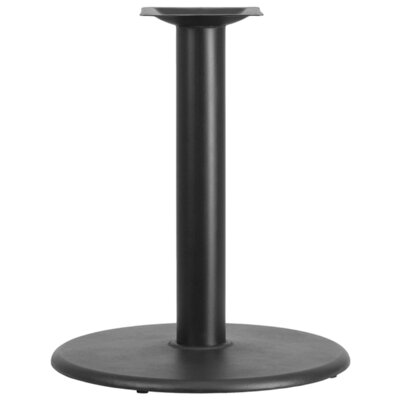 "Flash Furniture Round Shaped Restaurant Table Base with 3"" Diameter Column"