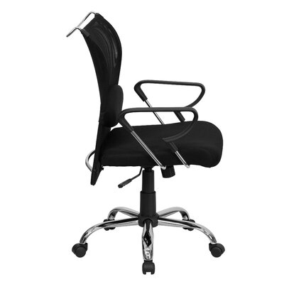 Flash Furniture Mid-Back Mesh Conference's Conference Chair with Padded Seat