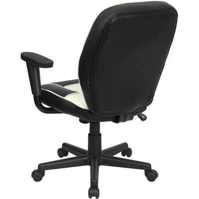 Flash Furniture Mid-Back Vinyl Steno Conference Chair
