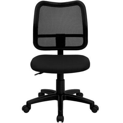 Flash Furniture Mid Back Mesh Task Chair with Cutout