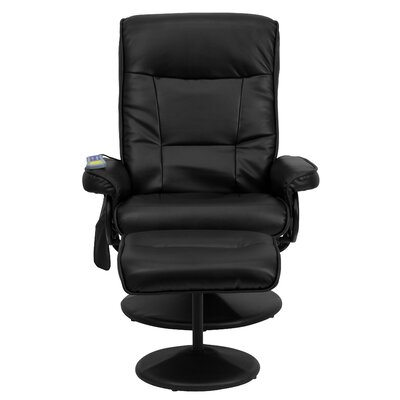 Flash Furniture Heated Reclining Massage Chair & Ottoman