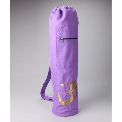 OM Shiva Drawstring Yoga Mat Bag by OMSutra