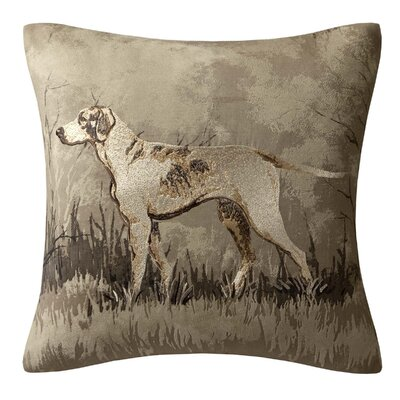 Hadley Printed Dog Polyester Throw Pillow by Woolrich
