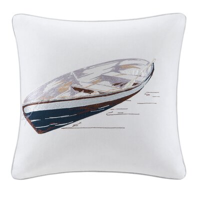 Lake Side Cotton Throw Pillow by Woolrich