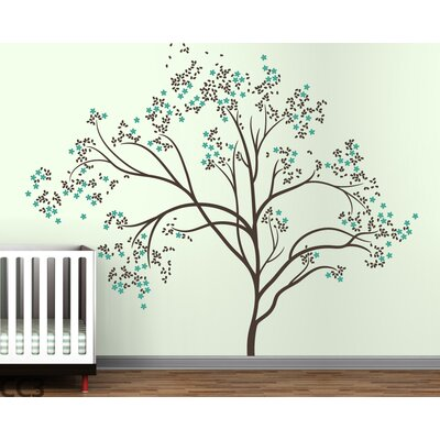 LittleLion Studio Trees Blossom Wall Decal