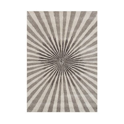 Aiyana Hand-Tufted Bleached Sand Area Rug by Wildon Home ®