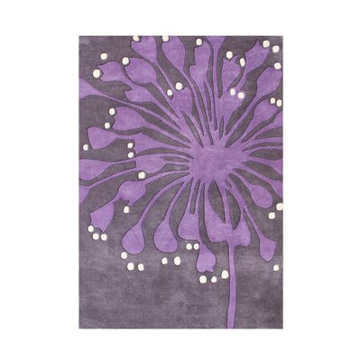 Andera Hand-Tufted Purple Area Rug by Wildon Home ®