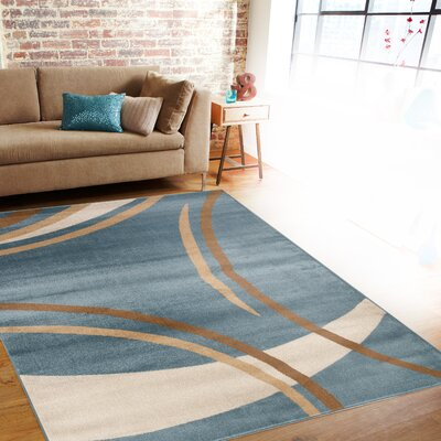 World Rug Gallery Alpine Blue Area Rug Amp Reviews Wayfair