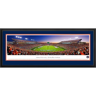 Blakeway Worldwide Panoramas, Inc NCAA End Zone Deluxe Framed Photographic Print