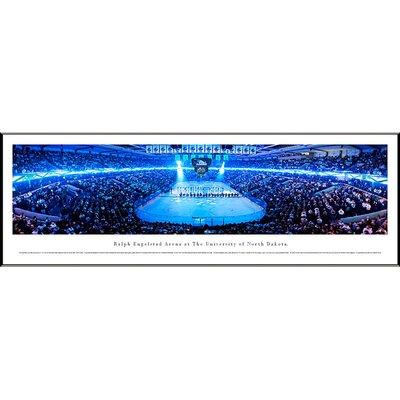 Blakeway Worldwide Panoramas, Inc NCAA University of North Dakota - Hockey Anthem by Christopher Gjevre Standard Framed Photographic Print