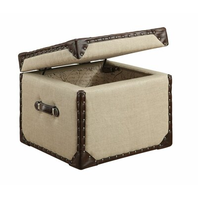 Cube Trunk with Lid by Alcott Hill