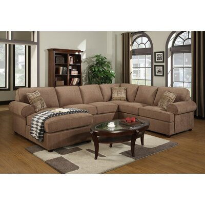 Left Hand Facing Sectional by Darby Home Co