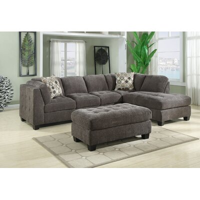 Chenille Modular Sectional by Darby Home Co