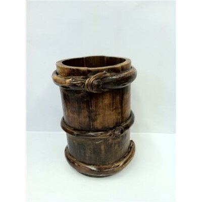 Antique Revival Vintage Tibetan Water Bucket