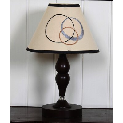 """Geenny 7"""" Polyester / Cotton Empire Lamp Shade"""