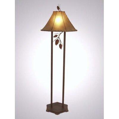 Steel Partners Ponderosa Pine Floor Lamp