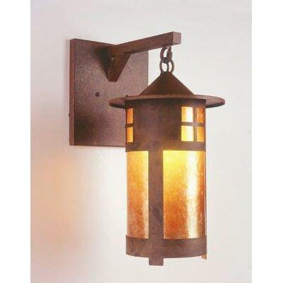 Steel Partners Pasadena 1 Light Wall Lantern